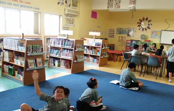 Library at Sekolah Tunas Muda